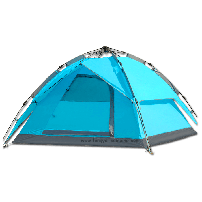 ... 4 man Easy Up Tent LY10105  sc 1 st  Huangshan Langya C&ing products Co. Ltd. & Easy Up Tentez up tentWholesale easy tentauto tent