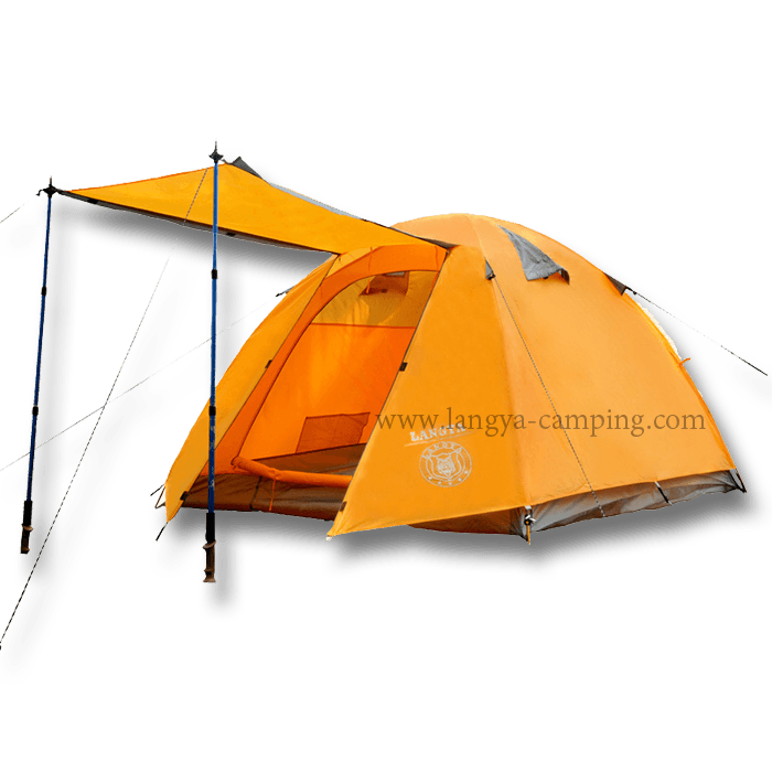 4 man storm tent LY101 ...  sc 1 st  Huangshan Langya C&ing products Co. Ltd. & 4 man tentsstorm tentaluminum pole four man tents