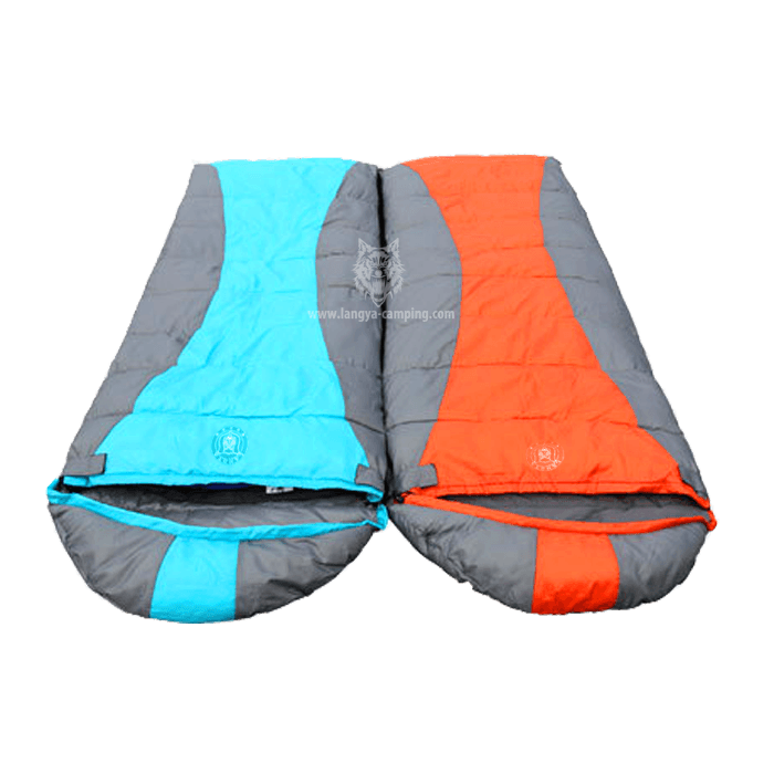 Zip Together Sleeping Bag With Hood Hs 769