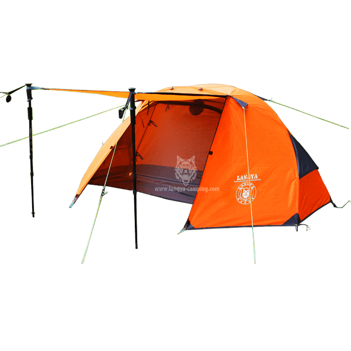Double layer single man waterproof tent LY-10147 ...  sc 1 st  Huangshan Langya C&ing products Co. Ltd. & single man tentwaterproof tent1 man tent2 layer tent
