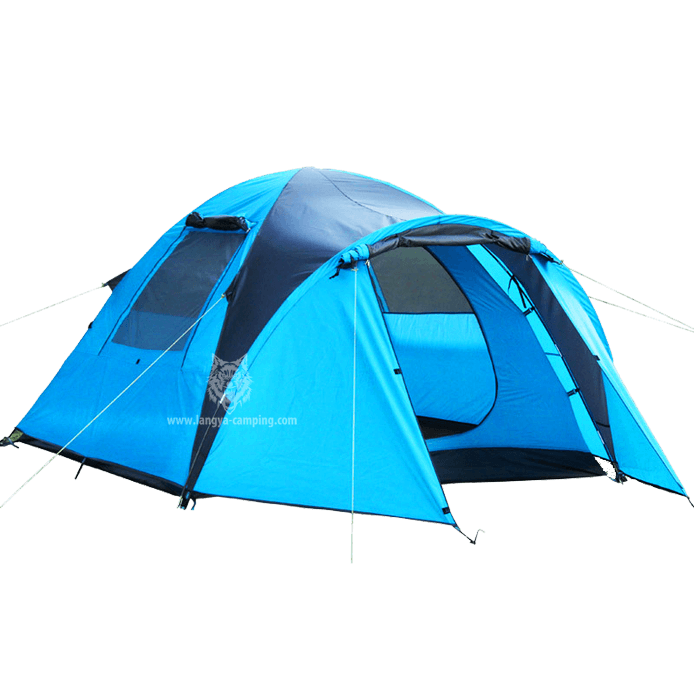 ... Tent with bed LY-10155 ...  sc 1 st  Huangshan Langya C&ing products Co. Ltd. & 4 man tenttent with vestibuletent 4tent with kitchen