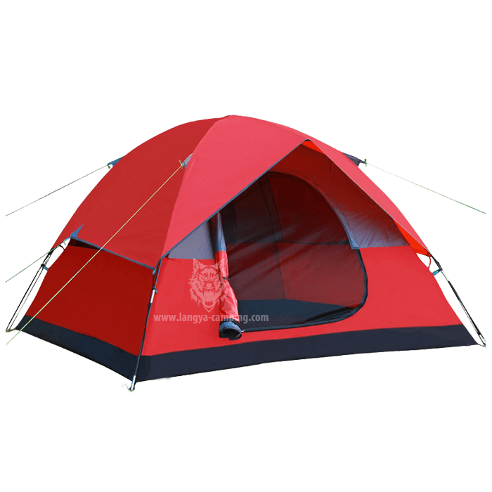 4 man storm tent LY-10144  sc 1 st  Huangshan Langya C&ing products Co. Ltd. & double layer factory 2-4 man tent