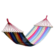 2014 colorful swing hammock with wood bar LY-2214