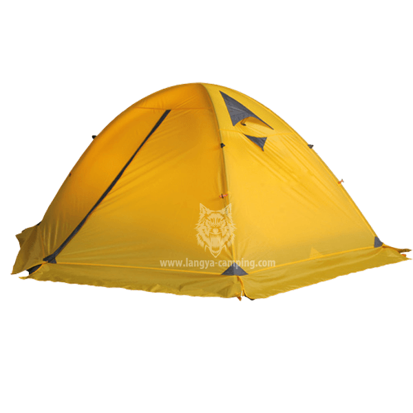 ... Strong pole four season tent LY-065S  sc 1 st  Huangshan Langya C&ing products Co. Ltd. & four season tentalpine tent2 layer tentaluminum pole tent