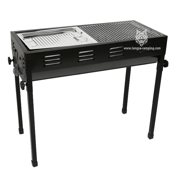 Thick large Japanese barbecue grill LY-727N
