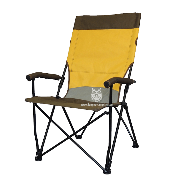 Foldable Camping Chair With High Backrest LY 731N ...