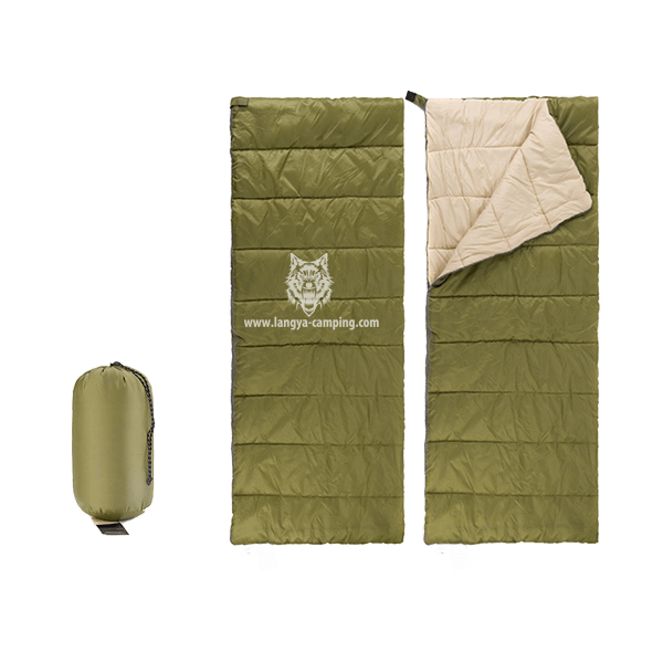 OEM ultralight summer nap envelope sleeping bag LY-512
