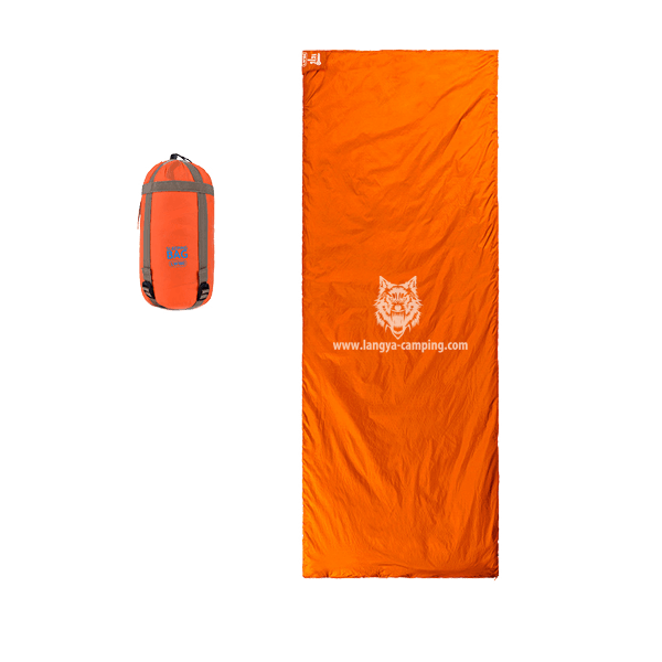 OEM ultra light envelope hiking sleeping bag LY-429