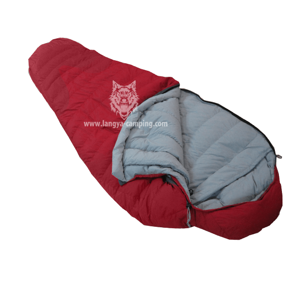 OEM zip together mummy sleeping bag